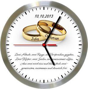 Frasi Matrimonio Orologio.620 Radio Orologio Da Parete Gt Matrimonio Lt Name Data