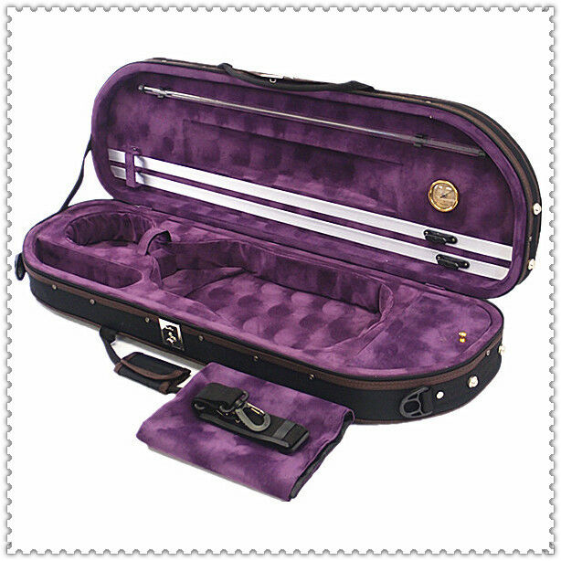 Great Gift - Special Item / Beauiful Moon Shape Foamed Violin Case -4/4 Size