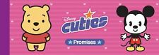 NEW -  DISNEY CUTIES  a CHEQUE BOOK OF PROMISES with 30 CHEQUES Mickey Pooh Daff