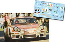 Decal 1:43 Marc Etchebers - PORSCHE 911 SC - Rally El Corte Ingles 1980 Winner