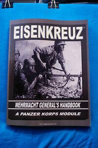 Eisenkreuz-Wehrmacht-General-039-s-Handbook-A-Panzer-Korps-Module