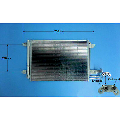 AIR CON CONDENSER//RADIATOR FIT FOR A SEAT LEON ALTEA TOLEDO 2004/>ONWARDS