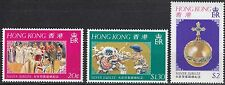 Hongkong Nr. 331-333** Silver Jubilee Queen Elizabeth II.