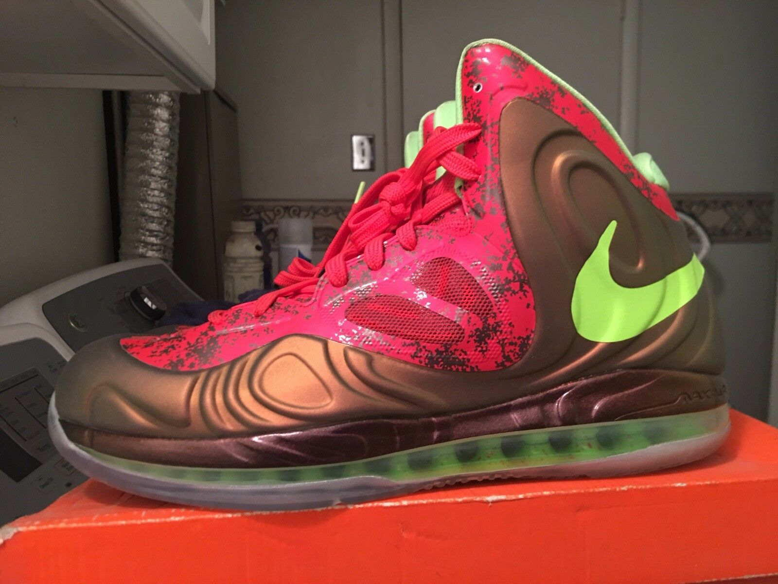 DS Andre Drummond PE Nike Hyperposite Promo Sample 11 player edition foamposite