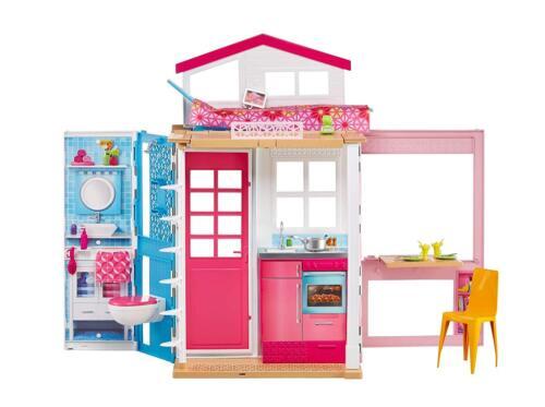 ACCESSORIES Dream House Mattel NEW /& OVP Barbie 2-storey Cottage /& Doll Dress