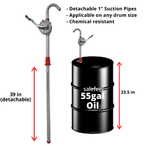 Business & Industrial Manual Hand Crank Rotary Pump Oil Fuel ...
