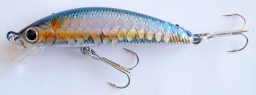 Lucky Craft Humpback Minnow 50SP Japan Wobbler Bait Trout Predators