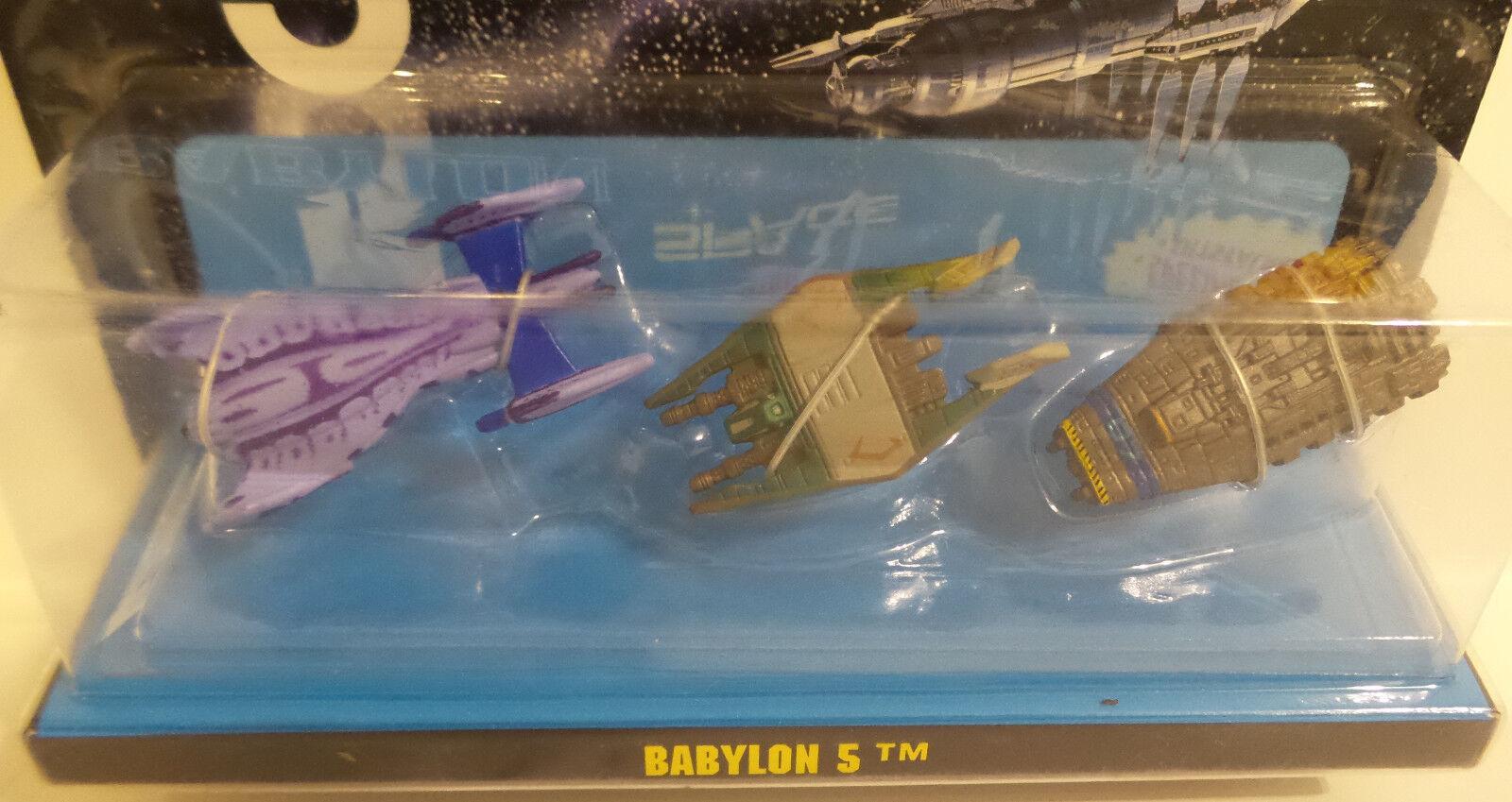 BABYLON 5: MINBARI flyer, navette NARN fighter, B5 CREW navette flyer, micromachines (tk) e4dede