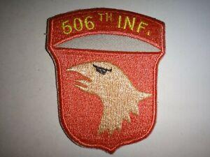Guerra-Vietnam-Eeuu-Ejercito-506th-Infanteria-Regimiento-Parche
