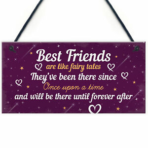 Image Is Loading Birthday Gifts For Best Friend Hanging Plaque Christmas
