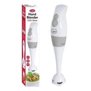 Quest Hand Blender Stick 2 Speeds White 200 Watt Mixer