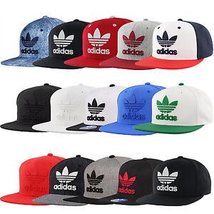 ab6b66713e7 Image is loading ADIDAS-Originals-Thrasher-hat-cap-snapback-Trefoil-logo-