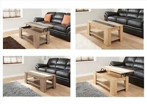 Lift-Up-Top-Coffee-Table-Oak-Walnut-Cream-Black-Gloss-Storage-amp-Shelf-Modern