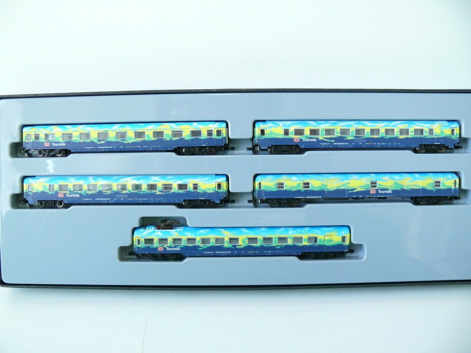Z - 87303 vagoni-Set 2  touristikzug  delle DB AG-NUOVO & OVP