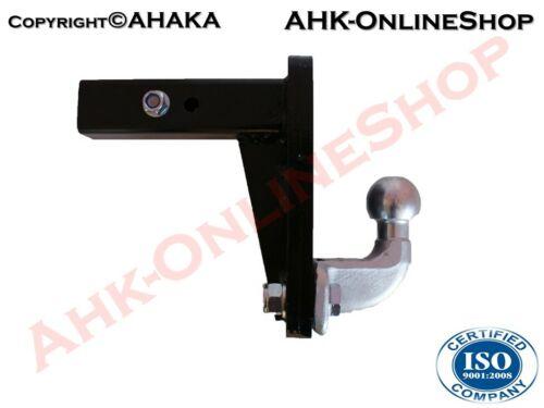 US-Adaptateur Attelage remorque 50x50mm 2/'/' Hummer H2 2003–2009 4 Hauteurs