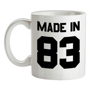 Made-in-039-83-Mug-36th-Compleanno-1983-Regalo-Regalo-36-Te-Caffe