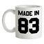 Made-in-039-83-Mug-36th-Compleanno-1983-Regalo-Regalo-36-Te-Caffe miniatura 1