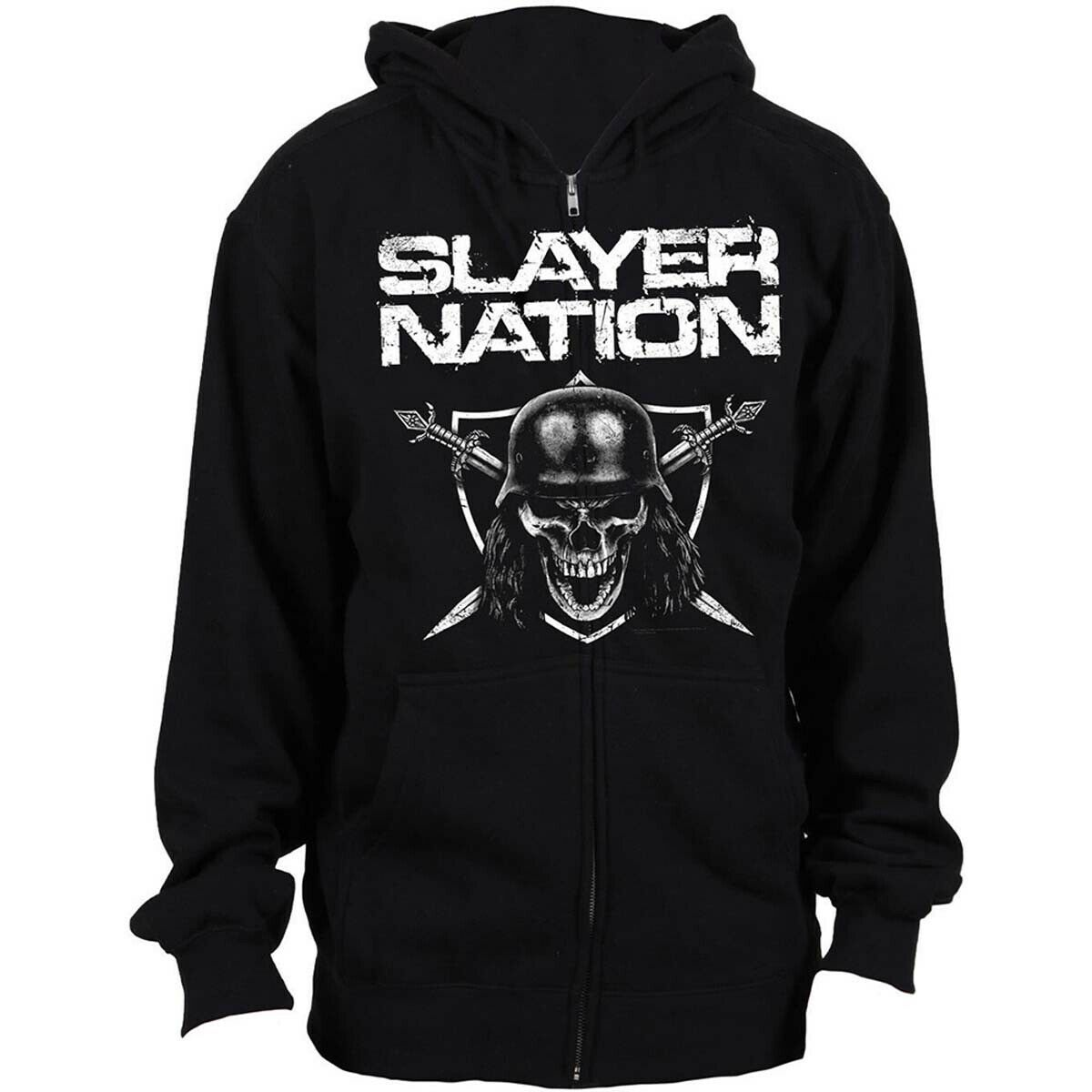 Slayer Nation Official Hoodie Hooded Top
