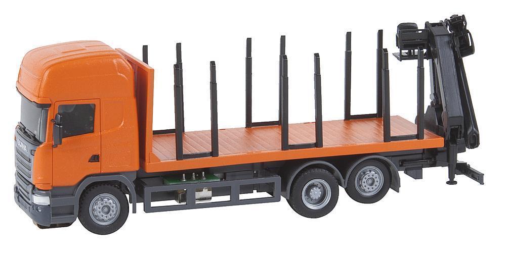 Faller 161634 H0 Coche System Scania R13 Kurzholz Camión (Herpa)