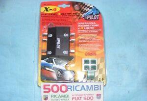 FIAT-500-F-L-R-126-CENTRALINA-AUTO-A-4-PULSANTI-X-LAMPADE-LED-NEON-TUNING-STROBO