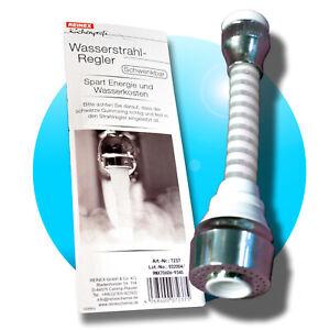 Strahlregler-Schwenkbrause-Wasserhahn-Aufsatz-Wassersparer-360-mit-Schlauch