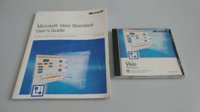 Microsoft Visio Standard 2002 Version  Office Business