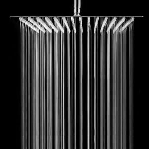 Brushed-Nickel-16-inch-Stainless-Steel-Square-Rainfall-Shower-Head-Ultra-Thin