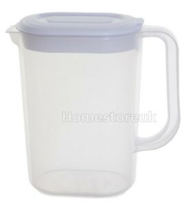1-5L-WHITEFURZE-JUG-PLASTIC-FRIDGE-MILK-ORANGE-JUICE-WATER-WITH-LID-AND-HANDLE