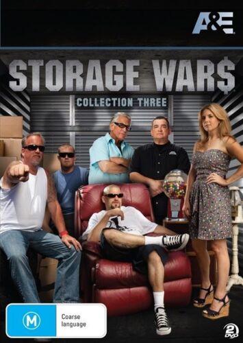 1 of 1 - Storage Wars : Collection 3 (DVD, 2013, 2-Disc Set) Region 4