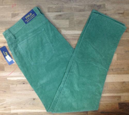 Polo Ralph Lauren Varick Slim-Fit Cotton Corduroy Pants MSRP $145