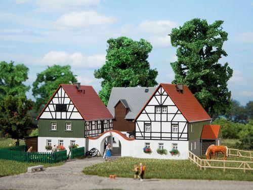 SH Auhagen 12257  Bauernhof Bausatz Spur HO / TT