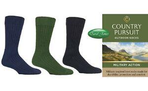 1 Pair Country Pursuit Luxury Wool Blend Wellington Boot socks 7-11 UK 41-45 EU
