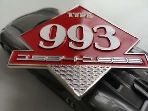 Details about Type Porsche 911 993 grill badge Porsche - fits all 993 -  1994-98 911 Porsche