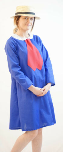 World Book Day-Character-Film MADELINE DRESS AND STRAW BOATER All Ages