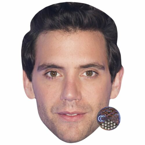 Mika Celebrity Mask Card Face and Fancy Dress Mask