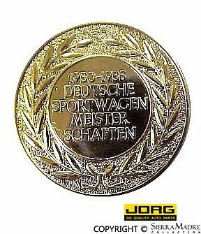 Meisterschaften Badge (50-56) for Porsche 356A/Speedster models