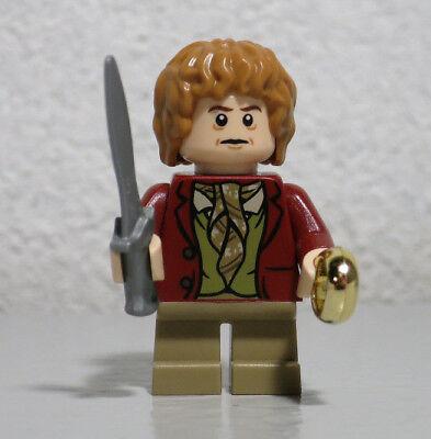 Bilbo Baggins 79004 79013 79000 Lord Rings Hobbit LEGO Minifigure minifig sword