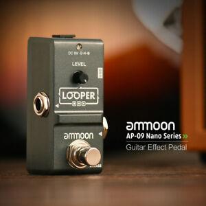 ammoon nano loop electric guitar effect pedal looper true bypass portable c0n3 702894066345 ebay. Black Bedroom Furniture Sets. Home Design Ideas