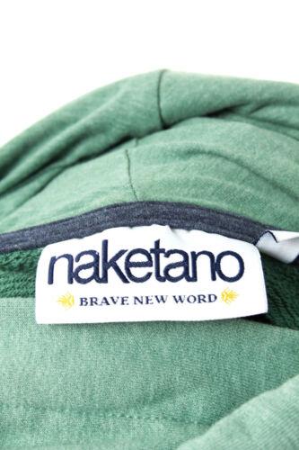 Naketano Sweatshirt Freizeit Baumwolle Gr Kapuzenshirt 38 M shirt Pullover qFdaqxHr