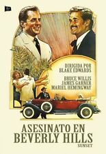 Sunset Region 2 Bruce Willis, Malcolm McDowell, Blake Edwards BRAND NEW SEALED