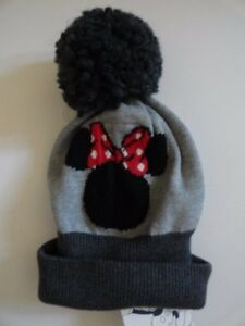 NWT Baby Gap Disney Minnie Mouse Pom Pom Hat XS SM 12-24 M L 4-5 ... 578dc69e584