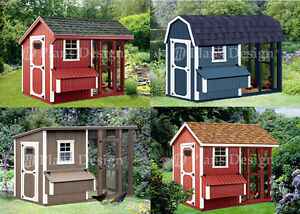Image Is Loading Chicken Coop Plans Four Roof Styles To Chose