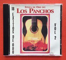 Los Panchos Epoca De Oro Vol 2 Sin Un Amor 18 Exitos CD Puerto Rico