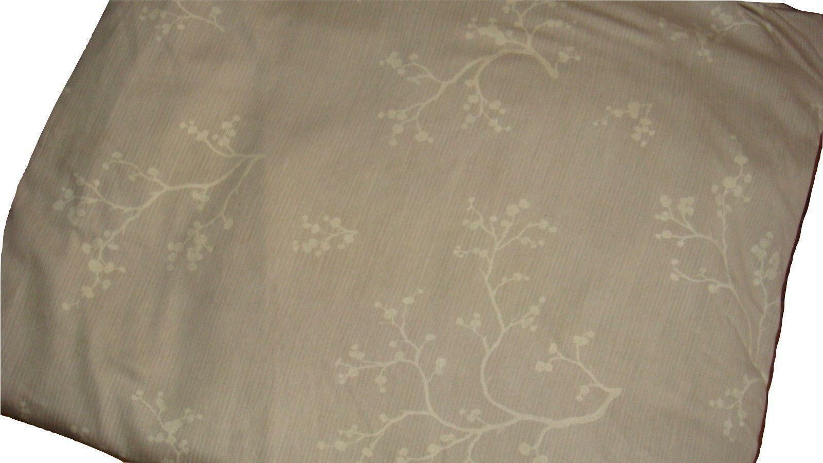 Barbara Barry Night Blossom Queen Duvet Cover Heather Sateen Cotton EUC