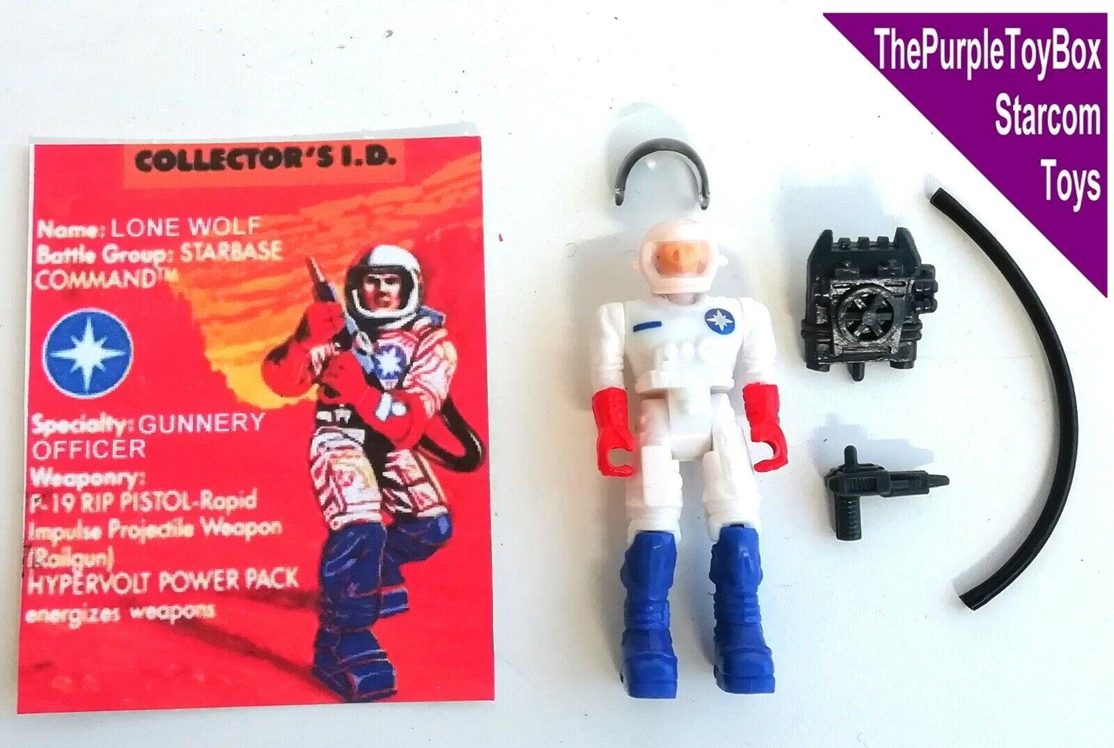 (A011) Vintage Década de 1980 Estrellacom Juguetes   lobo solitario  Estrella Comando europeo Exclusivo