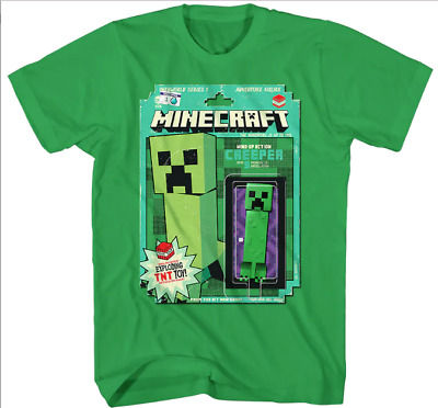 israphel t shirt New Minecraft Game Creeper