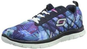 Details zu Schuhe Skechers flex Appell Flora Bloom 12061 nvmt running Frau dunkelblau Mehr