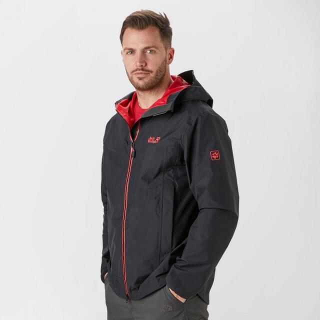 575588a136 Jack Wolfskin Mens Colourburst Jacket Lightweight and Durable Wear ...