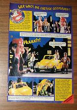 Seltene Werbung Tonka THE REAL GHOSTBUSTERS Geisterkäfer Oma Langzahn 1990