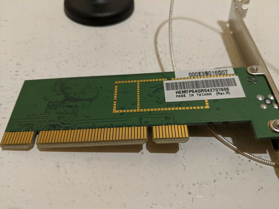 Netkort, wireless, Realtek RT2560F